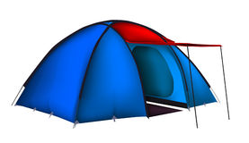 Vector tent Stock Images