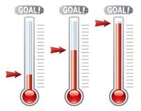 vector termômetros ilustração royalty free