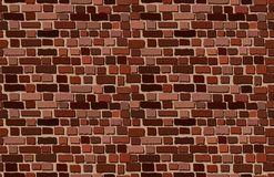 Vector old brick wall background royalty free illustration