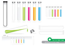 Vector Test Tube Royalty Free Stock Photo
