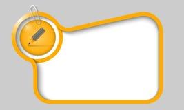 Vector text box Royalty Free Stock Photos