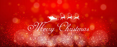 Vector text design merry christmas Stock Photos
