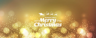 Vector text design merry christmas Royalty Free Stock Photography