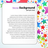 Vector text template Stock Image