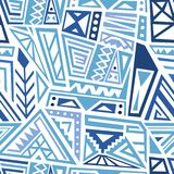 Vector textile design royalty free stock image