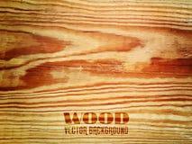 Vector a textura de madeira Imagem de Stock