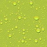 Vector. Textura inconsútil de la gota del agua Imagen de archivo libre de regalías