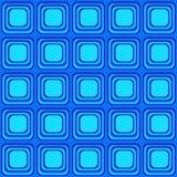 Vector a textura sem emenda com os quadrados arredondados que olham como a tevê velha ilustração royalty free