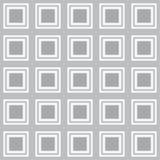 Vector a textura sem emenda com os quadrados arredondados que olham como a tevê velha ilustração stock