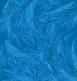 Vector Texture of angel wings. Stock Image