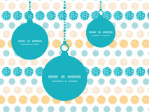 Vector texture circles stripes abstract Christmas Stock Image