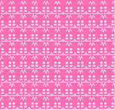 Vector texture of cute kitties minimalistic pink Royalty Free Stock Images