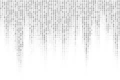 Binary Code Vector Texture royalty free illustration