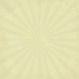 Vector texture of old paper with sunbeams Royalty Free Stock Image