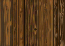 Vector texture - old wooden boards Stock Photo