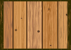 Vector texture of old wooden boards Royalty Free Stock Image