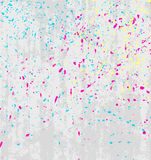 Vector texture splatters Royalty Free Stock Image