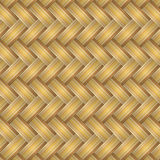 Vector texture of straw matting Stock Image