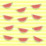 Vector texture of watermelon. Colorful illustration of watermelon for background. A nice drawing of a watermelon for a print royalty free illustration