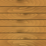 Vector texture of wooden planks Stock Photography