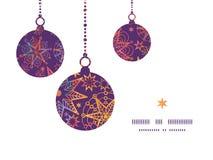 Vector textured christmas stars Christmas Royalty Free Stock Photography