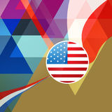 Vector 4th of july. Abstract 4th of july background vector illustration