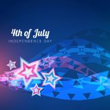 Vector 4th of july design Stock Photo