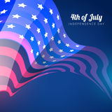 Vector 4th of july Royalty Free Stock Images