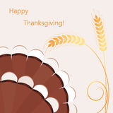 vector thanksgiving day background Royalty Free Stock Photo