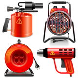 Vector Thermal Power Tools Stock Photos