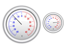 Vector thermometer Royalty Free Stock Photo