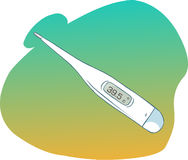 Vector thermometer Stock Photos