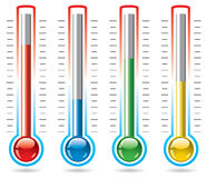 Vector thermometers Royalty Free Stock Photo