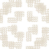 Vector tie dye seamless pattern. Hand drawn shibori print. Ink textured japanese background. Modern batic wallpaper tile. Watercolor ivory endless backdrop stock illustration