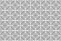 Vector Tile Pattern Royalty Free Stock Images