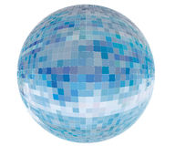 Vector tiled blue sphere Stock Photo