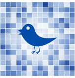 Vector tiles mosaic background Royalty Free Stock Photo