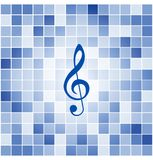 Vector tiles mosaic background Royalty Free Stock Image