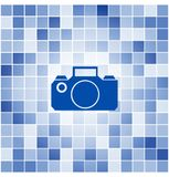 Vector tiles mosaic background Royalty Free Stock Images