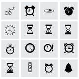 Vector time icon set Stock Photo