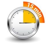 Vector timer Royalty Free Stock Photo