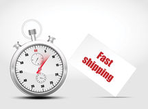 Vector timer. Royalty Free Stock Photography