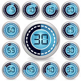 Vector timer Royalty Free Stock Images