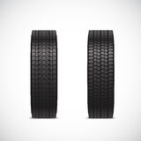 Vector tire icons Royalty Free Stock Photo