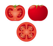 Vector Tomato Royalty Free Stock Photo