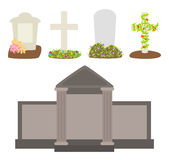 Vector tombstones Royalty Free Stock Photography