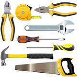 Vector Tool Set Royalty Free Stock Image