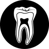 Vector tooth icon Stock Photo