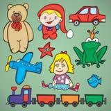 Vector toys Stock Photography