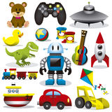 Vector Toys Set Royalty Free Stock Image